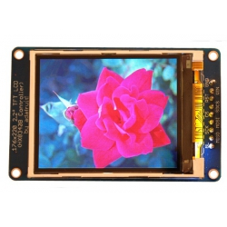 Adafruit 2.2in 18-bit colour TFT LCD display with microSD card breakout
