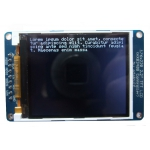 2.2in 18-bit colour TFT LCD display with microSD card breakout