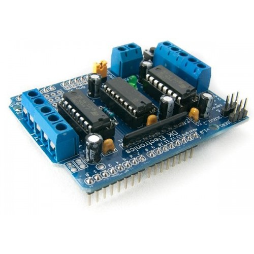 Motor Driver Shield X on L293d Motor Shield Arduino Code