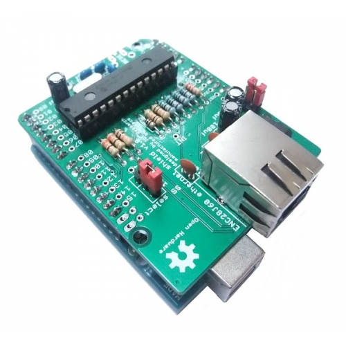 ethernet shield arduino how to connect