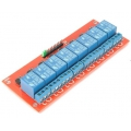 8-Channel 12V Relay Module with Opto Isolated inputs