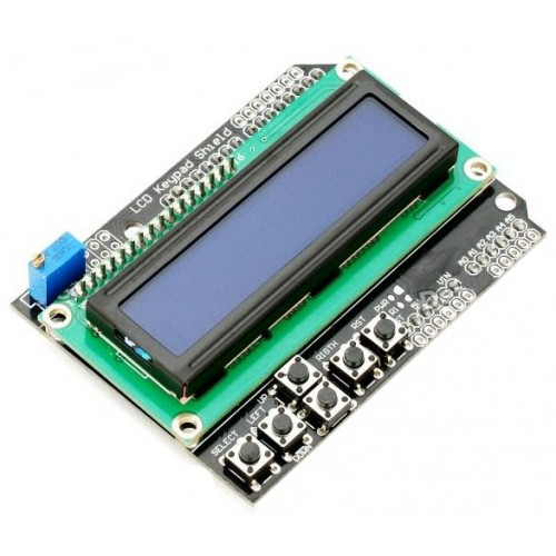 Lcd keypad shield for arduino lcdshield