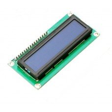 16x2 LCD Display White/Blue LED Backlight