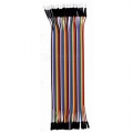 Ribbon Cable Jumper Wires Male-Female 40 (20cm)