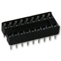 18 Pin DIL IC Socket (pack 10)