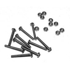Nuts and Bolts M2.5 x 20 (pack 10)