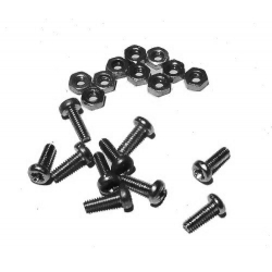 HobbyTronics Nuts and Bolts M2.5 x 6 (pack 10)