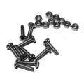 Nuts and Bolts M2.5 x 12 (pack 10)