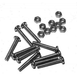 HobbyTronics Nuts and Bolts M3 x 20 (pack 10)