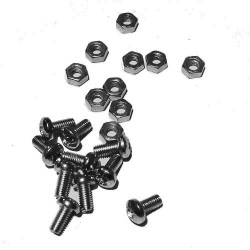 HobbyTronics Nuts and Bolts M3 x 6 (pack 10)