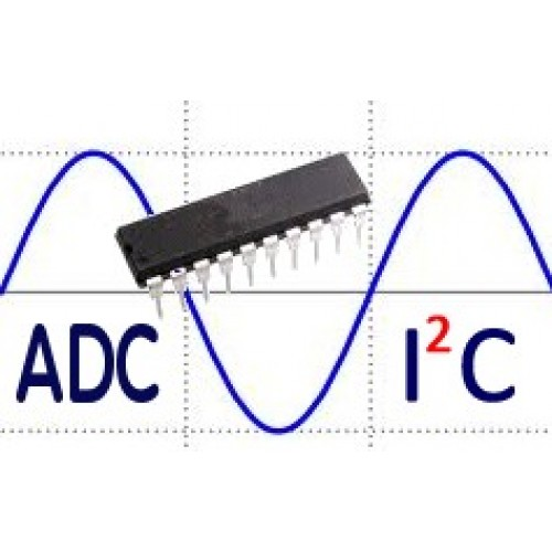 10 channel analog to digital converter (adc) i2c htadci2c