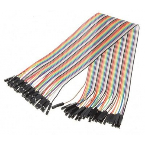 Ribbon Cable To Cable : Ribbon cable jumper wires female jumperf hobbytronics