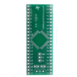 HobbyTronics TQFP 44 to DIP Adapter Board