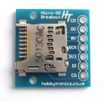 Breakout Board for microSD Flash Drive