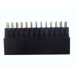 Female Header Socket 0.1inch - 2x13 Extra Tall