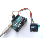 OLED Graphic Display 128x64 White on Black 0.96in