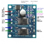 Dual 6A DC Motor Driver