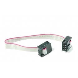 HobbyTronics 6-Conductor Ribbon Cable with IDC Connectors 6 inch