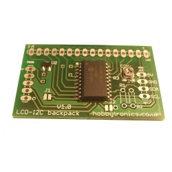 HobbyTronics LCD Backpack - I2C
