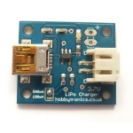 USB LiPo Battery Charger - 3.7V Single Cell