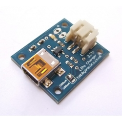 HobbyTronics USB LiPo Battery Charger - 3.7V Single Cell