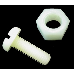 HobbyTronics Nylon Nuts and Bolts M3x20 (pack 10)