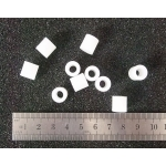 Nylon Spacer: 10mm x 10mm (10-Pack)