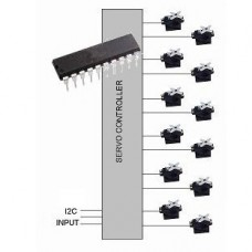 12 Channel Servo Controller IC