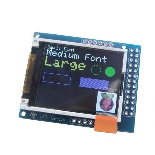 Tft Serial X on Arduino Graphic Display
