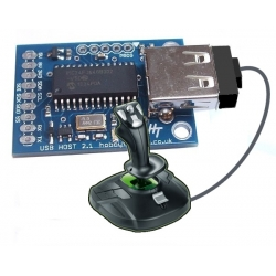 HobbyTronics USB Host Board - USB Joystick Software