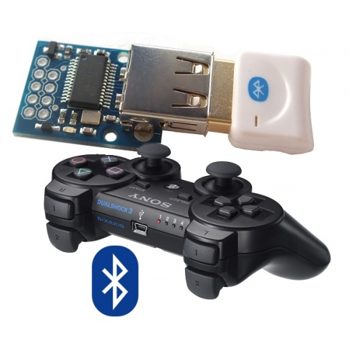 do ps3 controllers have bluetooth