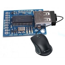 USB Host Board - USB Mouse Software