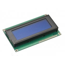 20x4 LCD Display White/Blue LED Backlight