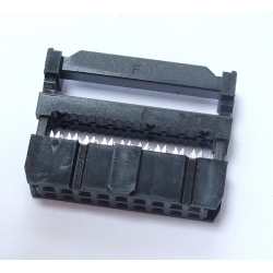 IDC Socket 2x9 pin 0.1in Female