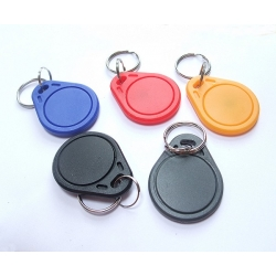 RFID FOB 13.56 MHz (multi-coloured pack of 5)