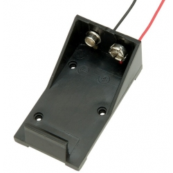PP3 Battery Box with leads