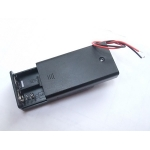 Enclosed Battery Box 2x AA with Switch