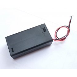 Pololu Enclosed Battery Box 2x AA with Switch