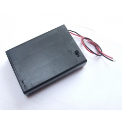 Pololu Enclosed Battery Box 3x AA with Switch