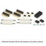 3pi Expansion Kit without Cutouts - Red