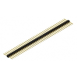 Pololu 40 Pin Double sided Straight Header 0.1in