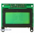8x2 Character LCD - Black Bezel (Parallel Interface)