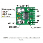 ACS709 Current Sensor Carrier -75A to +75A