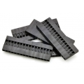 Crimp Connector Housing: 0.1 inch pitch 1x16-Pin 5-Pack