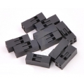 Crimp Connector Housing: 0.1 inch pitch 2x2-Pin 10-Pack