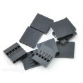 Crimp Connector Housing: 0.1 inch pitch 1x5-Pin 10-Pack