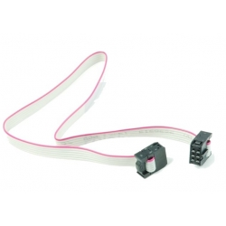 HobbyTronics 6-Conductor Ribbon Cable with IDC Connectors 12 inch