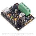 Jrk G2 21v3 USB Motor Controller with Feedback (Connectors Soldered)
