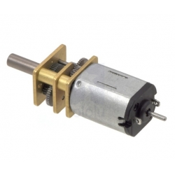 Pololu 30:1 Micro Metal Gearmotor HP Extended Shaft