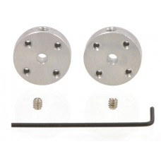 Universal Aluminum Mounting Hub for 3mm Shaft Pair